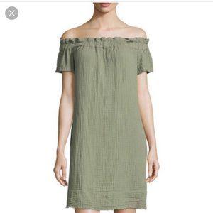 Anthropologie Dresses - AMADI Anthropologie Nola Off-The-Shoulder Dress